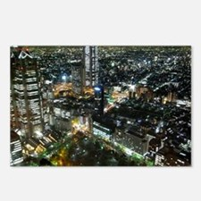 TOKYO NIGHT Postcards (Package of 8)