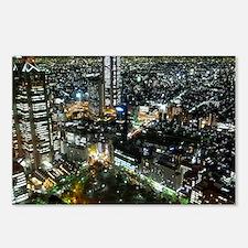 TOKYO NIGHT Postcards (Package of 8)