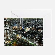 TOKYO NIGHT Greeting Card