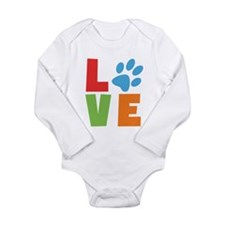 Funny Pet owners Long Sleeve Infant Bodysuit