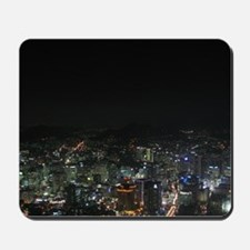 SEOUL NIGHT LIGHTS Mousepad