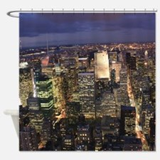 NEW YORK 1 Shower Curtain