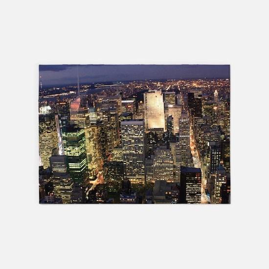 NEW YORK 1 5'x7'Area Rug
