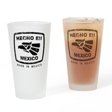 Cute Mexicano Drinking Glass