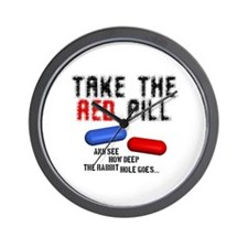Take the red pill... Wall Clock
