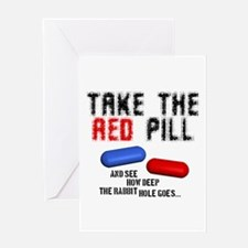 Take the red pill... Greeting Card