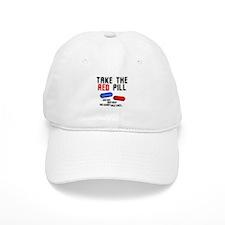 Take the red pill... Baseball Cap