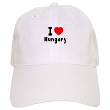 I Love Hungary Baseball Cap