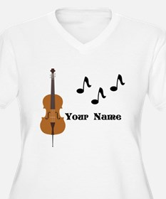 Cello Music Personalized Plus Size T-Shirt