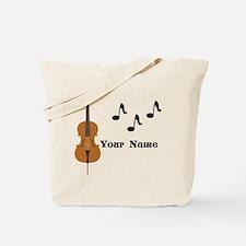 Cello Music Personalized Tote Bag