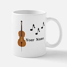 Cello Music Personalized Mugs