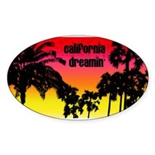 Cute Palm trees Decal