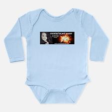 Unique Radio station Long Sleeve Infant Bodysuit