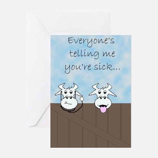 Sick n Twisted (3) Greeting Card