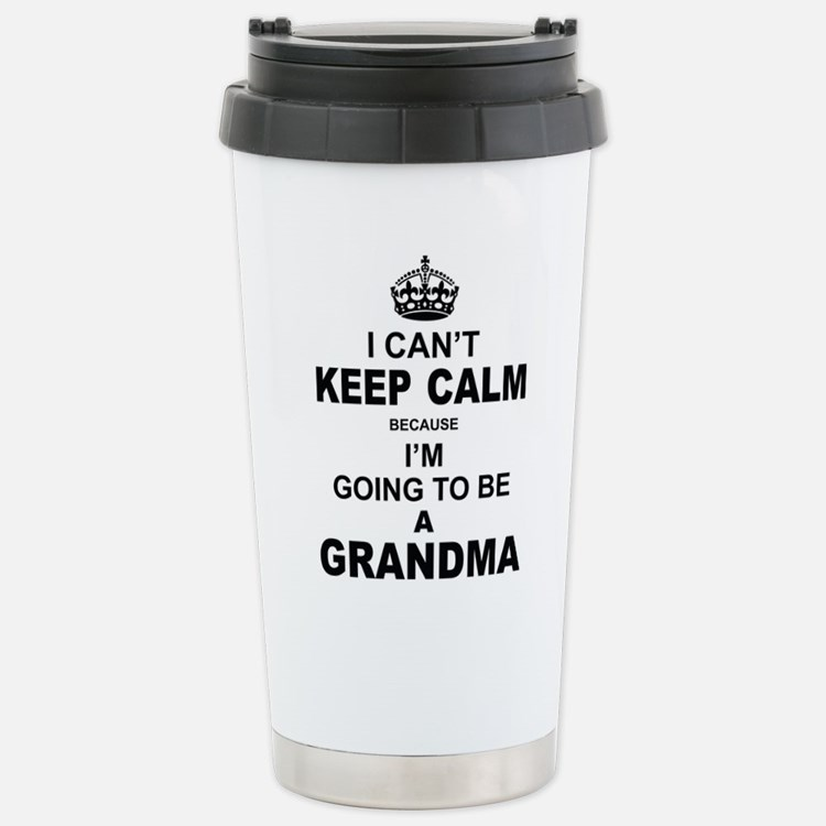 Cute New grandma Travel Mug