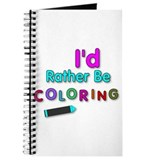 Coloring Journals & Spiral Notebooks
