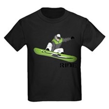 Funny Snowboarding T