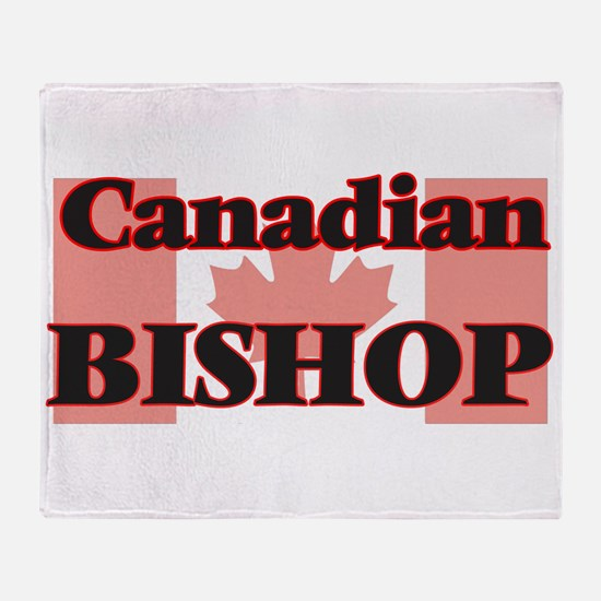 Canadian Bishop Throw Blanket