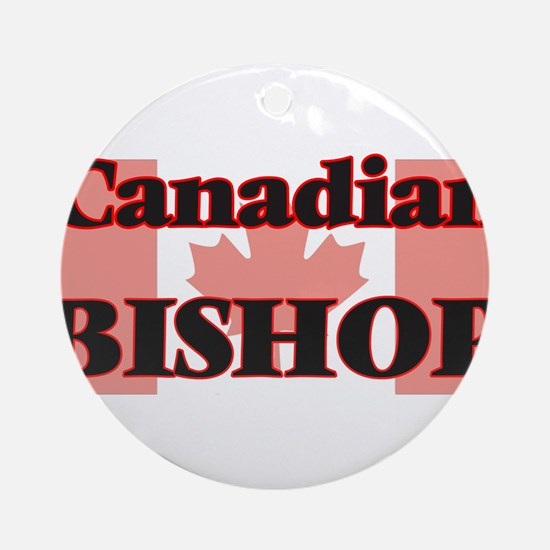 Canadian Bishop Round Ornament