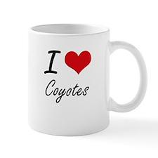 I love Coyotes Artistic Design Mugs