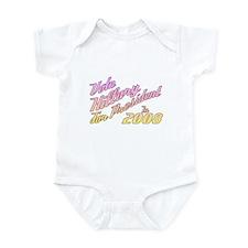 Hillary 2008 Infant Bodysuit