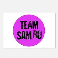 Team SamRo Postcards (Package of 8)