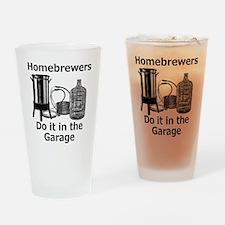 DoItInTheGarage Drinking Glass