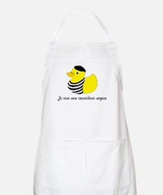 French Rubber Ducky Apron