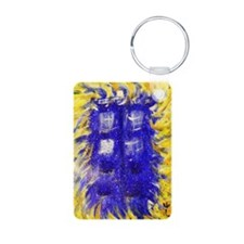 Raven Dreams of TARDIS Keychains