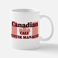 Canadian Call Center Manager Mugs