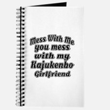 Mess with me you mess with my Kajukenbo Gi Journal