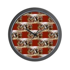 1st thanksgiving Wall Clock