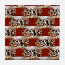 1st thanksgiving Tile Coaster