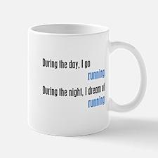 I Dream Running Mug