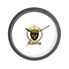 THIBEAU Family Crest Wall Clock