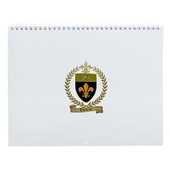 THIBEAU Family Crest Wall Calendar