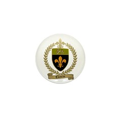 THIBEAU Family Crest Mini Button (100 pack)