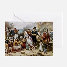 first thanksgiving Greeting Card