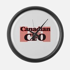 Canadian Cfo Large Wall Clock