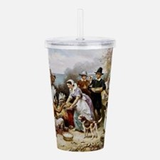 first thanksgiving Acrylic Double-wall Tumbler