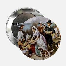 "first thanksgiving 2.25"" Button (10 pack)"