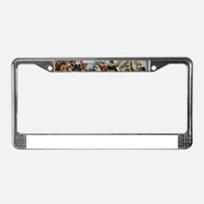 first thanksgiving License Plate Frame