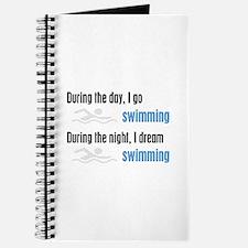 I Dream Swimming Journal