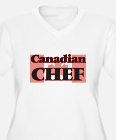 Canadian Chef Plus Size T-Shirt