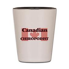 Canadian Chiropodist Shot Glass