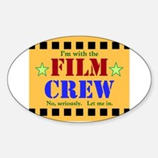 Film Crew Decal
