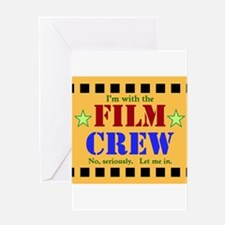 Film Crew Greeting Cards