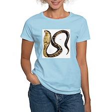 Cobra Snake Women's Pink T-Shirt