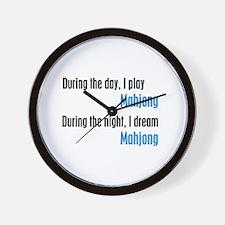 I Dream Mahjong Wall Clock