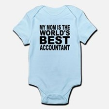 My Mom Is The Worlds Best Accountant Body Suit